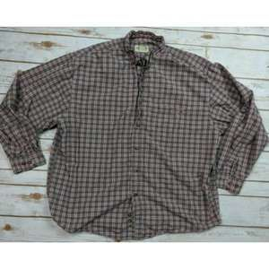 Eddie Bauer Shirt Long Sleeve Plaid